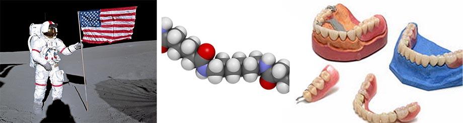 Материал для нейлонового протеза